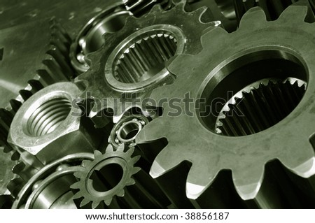 titanium gears in action