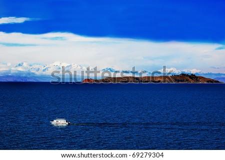 Titicaca Lake - stock photo