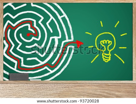 To find answers to your business success. - stock photo