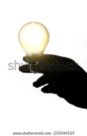 to hit on an idea - stock photo