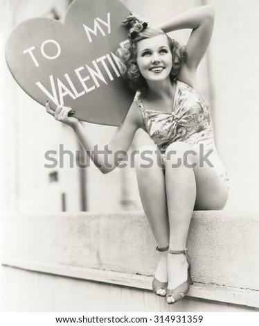 To My Valentine - stock photo