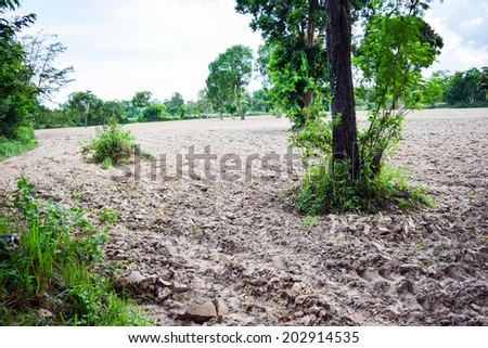 To plow a field - stock photo