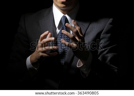 To solicit sales - stock photo