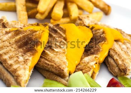 toast background - stock photo