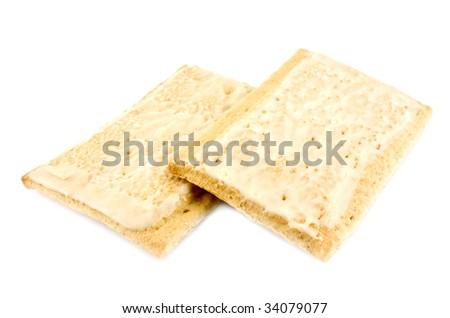 Toaster breakfast pastries - stock photo
