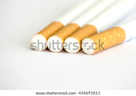 Tobacco Cigarettes Background or texture