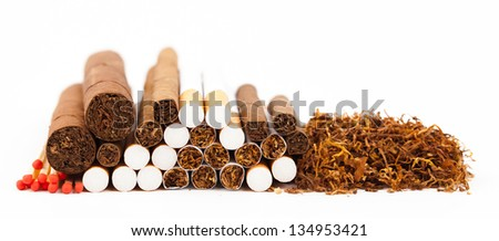 tobacco industry - stock photo