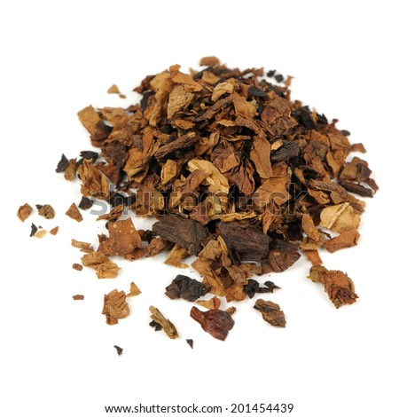 Tobacco Isolated on White Background - stock photo