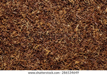 tobacco texture background - stock photo
