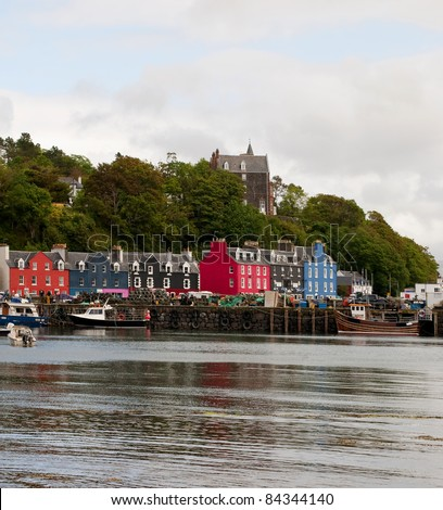 Tobermory in Scotland