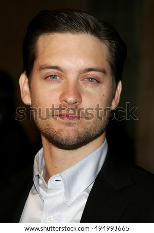 Tobey Maguire at the Los Angeles premiere of 'The Good German' held at the Egyptian Theatre in Hollywood, USA on December 4, 2006.
