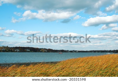 Tod's Point, Old Greenwich, Connecticut - stock photo