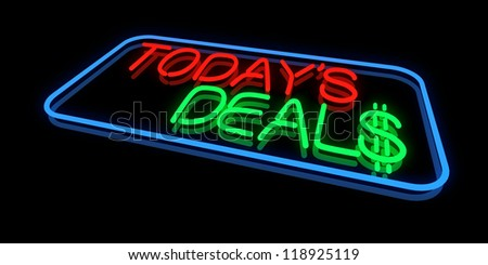 Today's Deals - stock photo