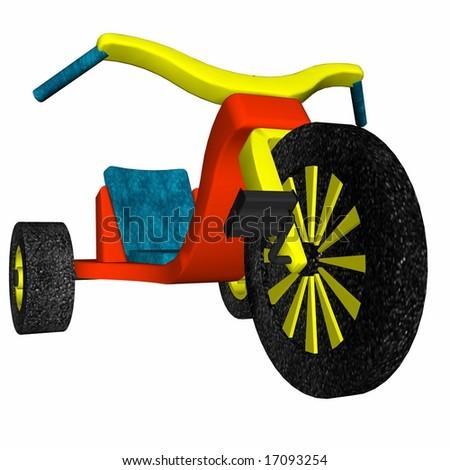 Toddler Bike - stock photo