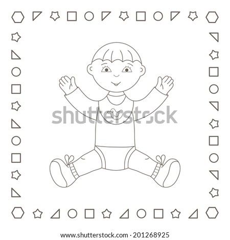 newborn baby boy coloring pages