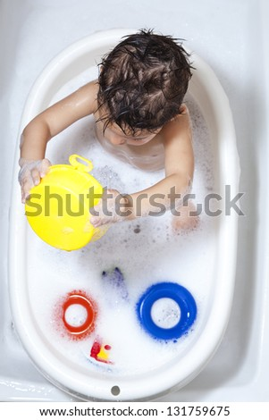 Kids Bath Time Stock Images Royalty Free Images Amp Vectors