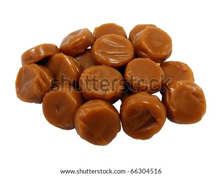 Toffees - stock photo