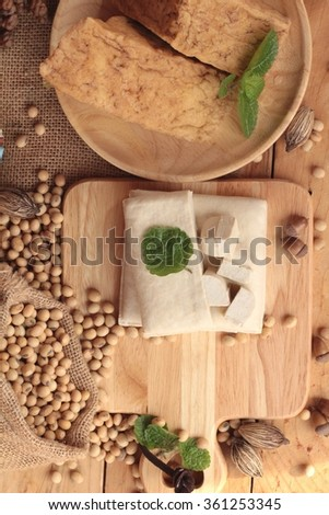 Tofu for cooking and soybean seed