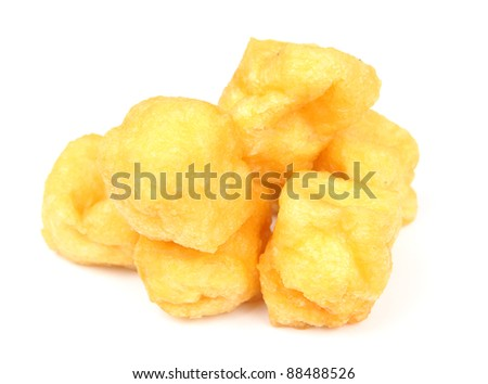 Tofu Puff - stock photo