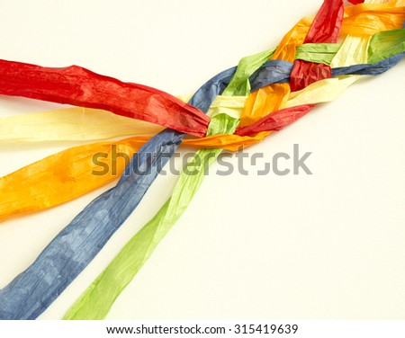 together - stock photo