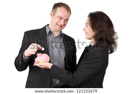 together save - stock photo