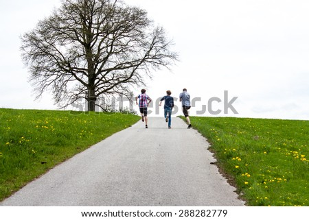 Together we are strong - stock photo