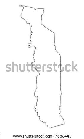 Best Portugal Country Map Outline Graphic Stock Vector - Togo map outline