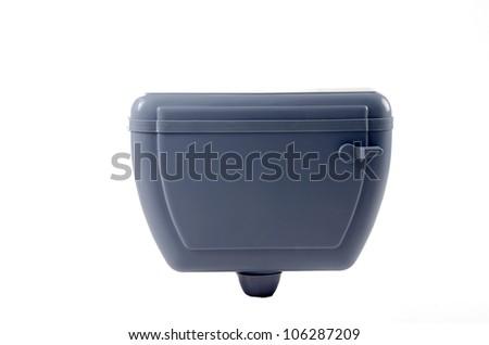 Toilet Flush - stock photo