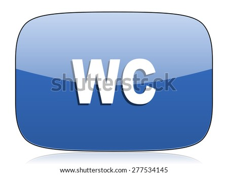 toilet icon wc sign