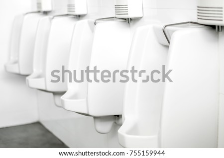 Toilet Urinal White Puns Mens Bathroom Stock Photo Royalty Free Extraordinary Bathroom Puns