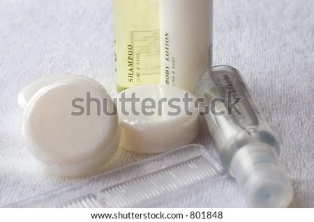 toiletries - stock photo