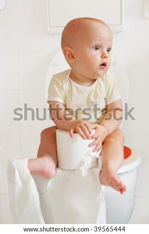 Toilette - stock photo