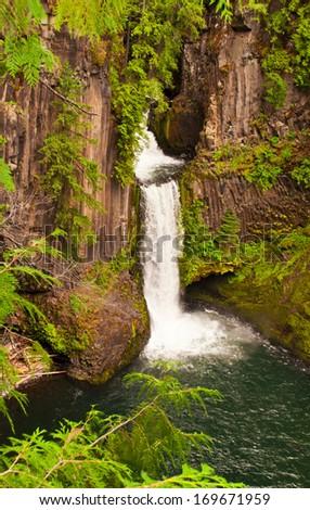 Tokatee falls - stock photo