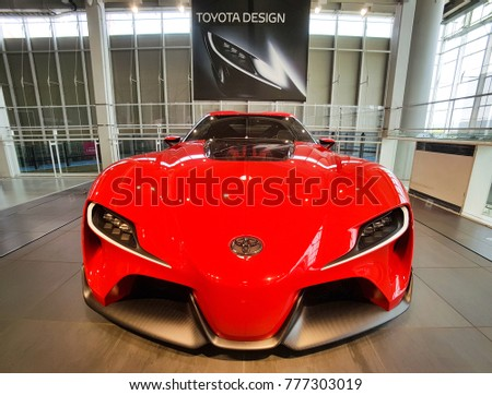 Awesome TOKYO, JAPAN   JULY 10, 2017: TOYOTA Concept Cars FT 1,