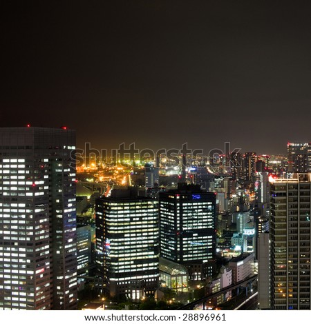 Tokyo night-scape from WTC