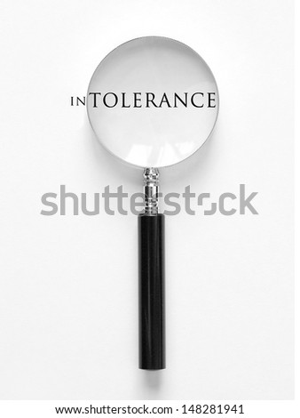 Tolerance - stock photo