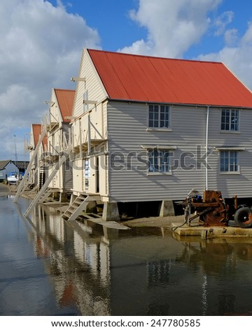 Tollesbury Sail Lofts - stock photo