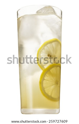 Tom Collins drink - stock photo