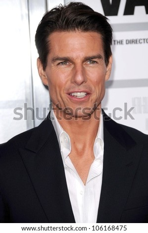 Tom Cruise   at the Los Angeles Premiere of 'Valkyrie'. The Directors Guild of America, Los Angeles, CA. 12-18-08 - stock photo