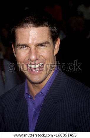 Tom Cruise at the premiere of COLLATERAL at The Urban World Film Festival on August 4, 2004 in New York - stock photo