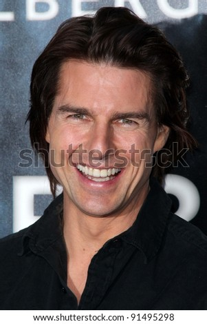 """Tom Cruise at the """"Super 8"""" Los Angeles Premiere, Regency Village Theatre, Westwood, CA. 06-08-11 - stock photo"""