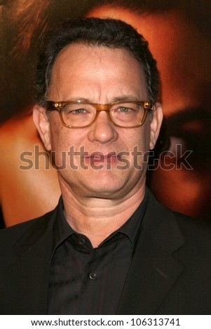 Tom Hanks  at the 3rd Season Premiere of 'Big Love'. The Cinerama Dome, Hollywood, CA. 01-14-09 - stock photo