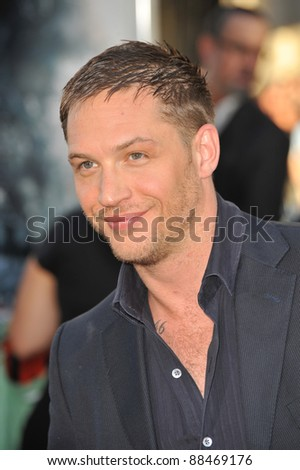 """Tom Hardy at the Los Angeles premiere of his new movie """"Inception"""" at Grauman's Chinese Theatre, Hollywood. July 13, 2010  Los Angeles, CA Picture: Paul Smith / Featureflash - stock photo"""