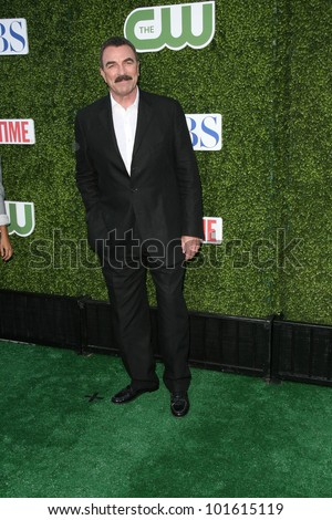 Tom Selleck at the CBS, The CW, Showtime Summer Press Tour Party, Beverly Hilton Hotel, Beverly Hills, CA. 07-28-10