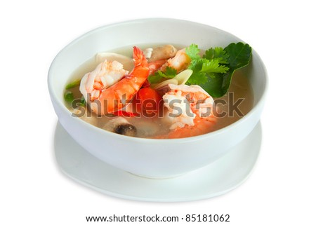 Tom Yum Kung , thai Soup