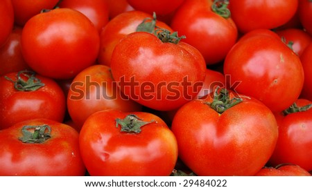 Tomato background. Can be used for wallpaper - stock photo