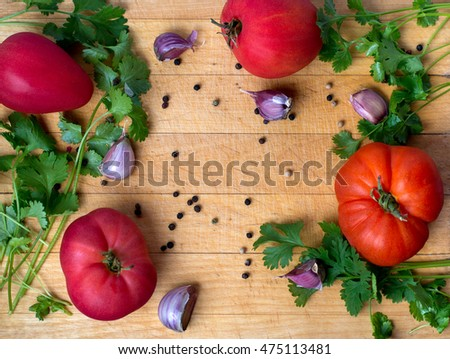 tomato food background