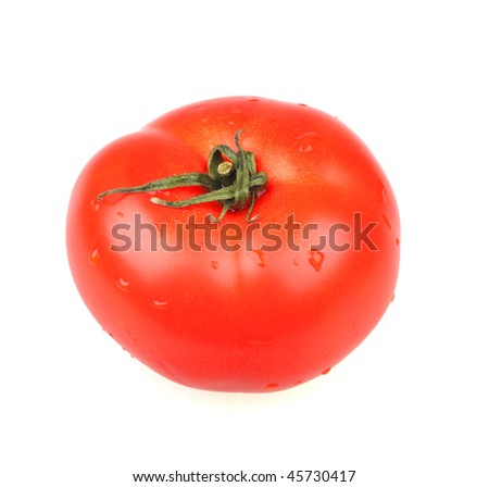 Tomato. Isolated object