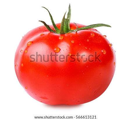tomato isolated on white background