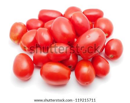 tomato on a white background - stock photo